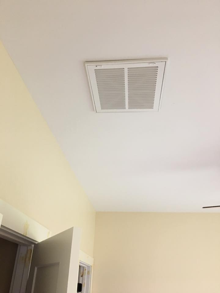 CAM Heating & Cooling vent in ceiling